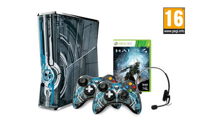 Xbox 360® Limited Edition Halo® 4-console
