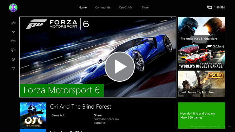 What's in the New Xbox One Experience