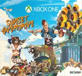 Xbox One Special Edition Sunset Overdrive Bundle box