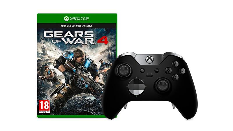 Kupte si Xbox Elite ovladač a získejte hru Gear of Wars 4 zdarma - Ušetřete 1999 Kč