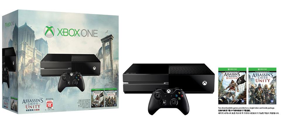 Xbox One「刺客教條:大革命」同捆