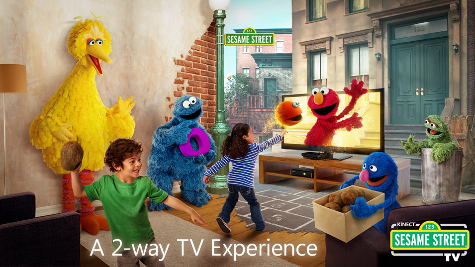 Xbox Kinect Sesame Street 2-Way TV Experience