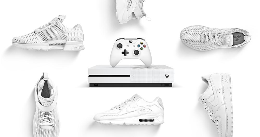 Vinci la nuovissima Xbox One S grazie a Foot Locker.