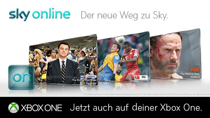 Sky Online auf Xbox One