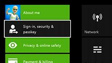 Clé d'accès XboxOne oubliée